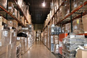 warehouse full of unwanted assets